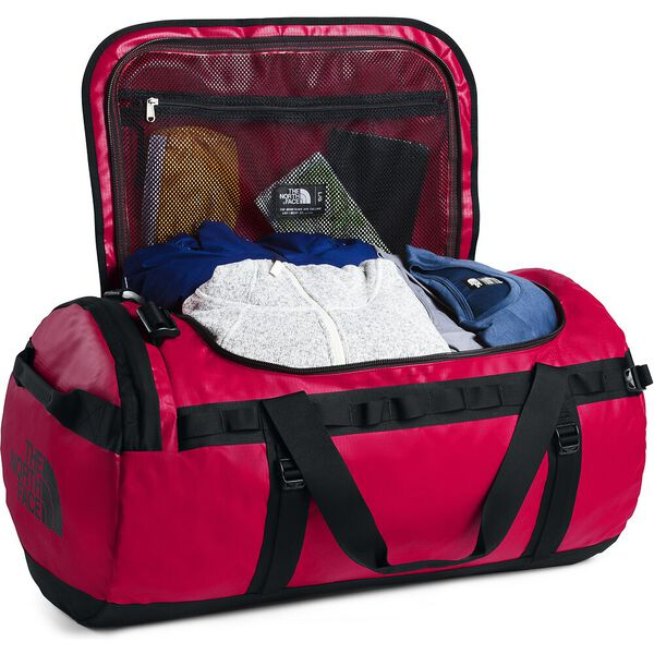 Base Camp Duffel - L, TNF RED/TNF BLACK, hi-res