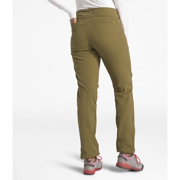 WOMEN'S NORTH DOME PANT, BRITISH KHAKI, hi-res