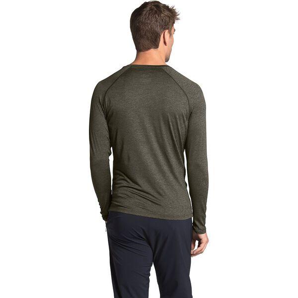 Men's HyperLayer Flashdry™ Long-Sleeve, NEW TAUPE GREEN HEATHER, hi-res
