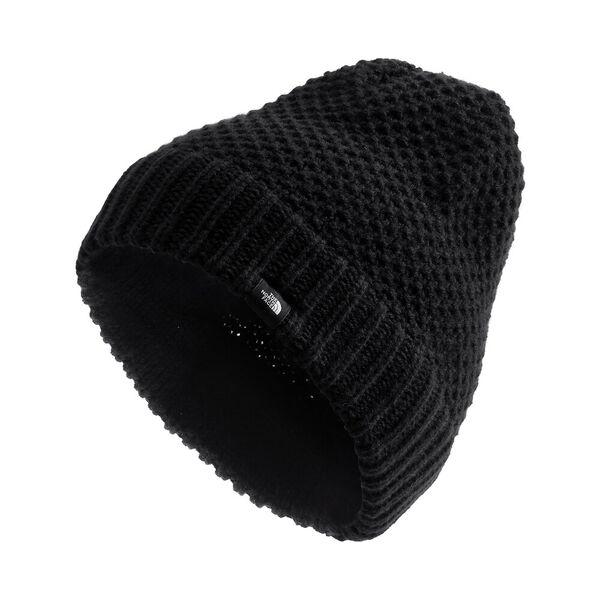Women's Purrl Stitch Beanie, TNF BLACK, hi-res