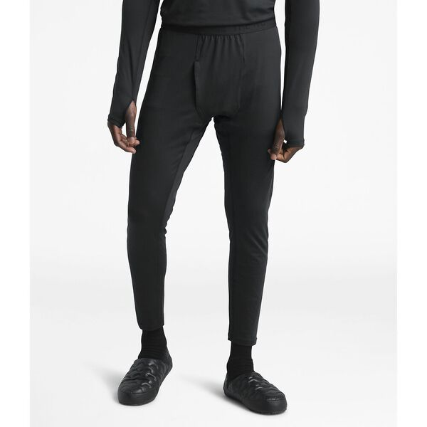 Men's Warm Poly Tights, TNF BLACK, hi-res