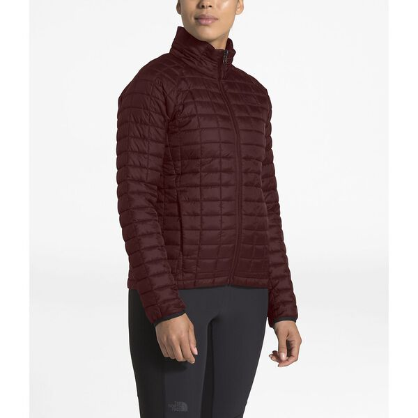 WOMEN'S THERMOBALL™ TRICLIMATE® JACKET, DEEP GARNET RED, hi-res