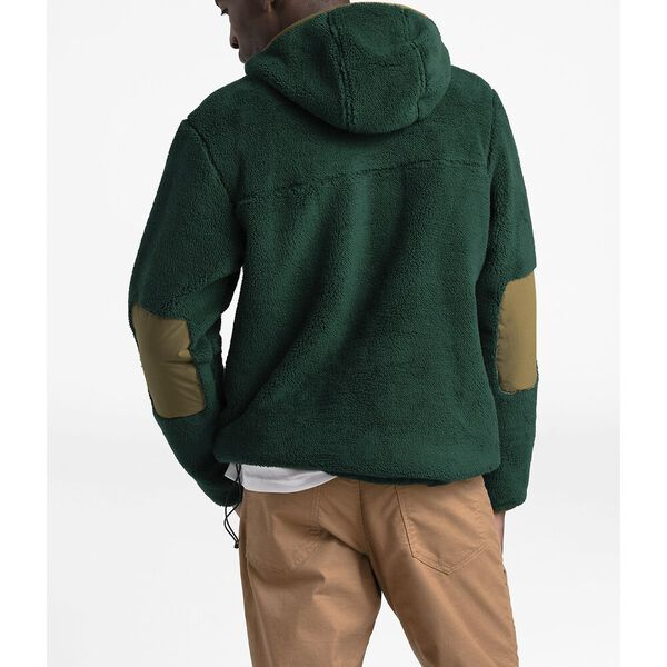 Men's Campshire Pullover Hoodie, NIGHT GREEN/BRITISH KHAKI, hi-res