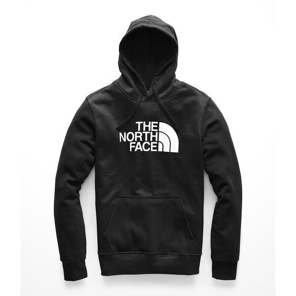MEN'S HALF DOME HOODIE, TNF BLACK/TNF WHITE, hi-res