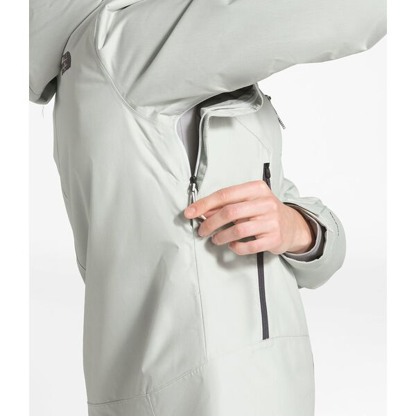 Women's Inlux Insulated Jacket, TIN GREY HEATHER, hi-res