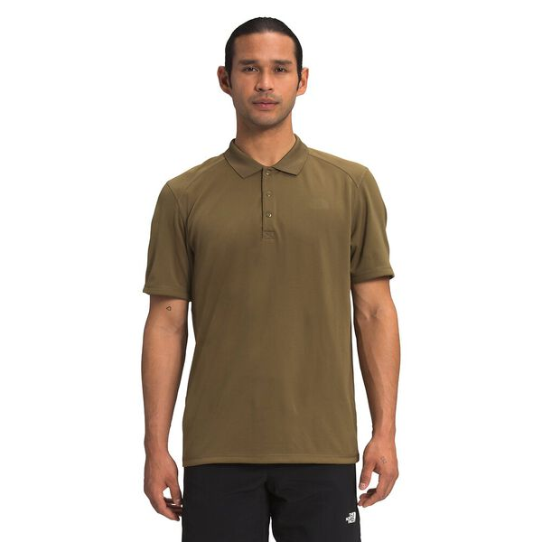 Men's Short-Sleeve Horizon Polo, MILITARY OLIVE, hi-res