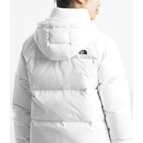 WOMEN'S DEALIO DOWN CROP JACKET, TNF WHITE, hi-res