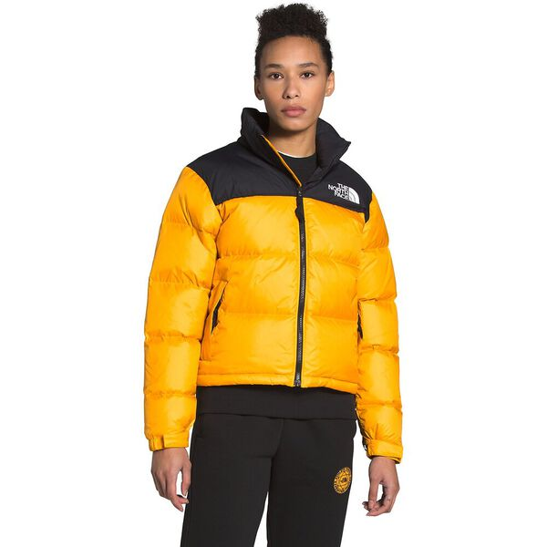 Women's 1996 Retro Nuptse Jacket, SUMMIT GOLD, hi-res