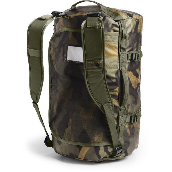 BASE CAMP DUFFEL - S, BURNT OLIVE GREEN WAXED CAMO PRINT/BURNT OLIVE GREEN, hi-res