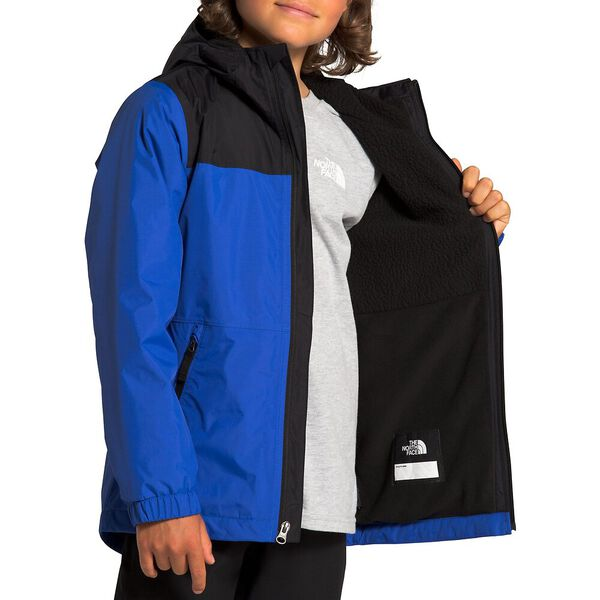 Boys' Warm Storm Rain Jacket, TNF BLUE, hi-res