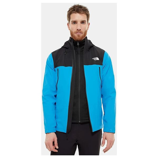 Men's Tente FUTURELIGHT™ Jacket, CLEAR LAKE BLUE/TNF BLACK, hi-res
