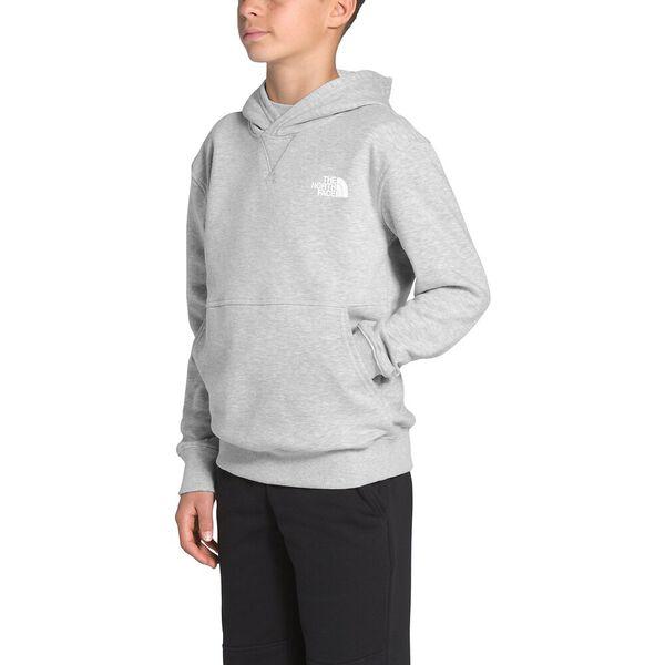 Boys' Essential Pullover Hoodie, TNF LIGHT GREY HEATHER, hi-res