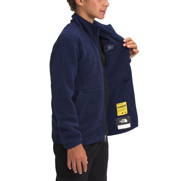 Boys' Carbondale Fleece Jacket, TNF NAVY, hi-res