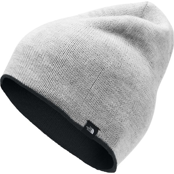Merino Reversible Beanie, TNF BLACK/TNF LIGHT GREY HEATHER, hi-res