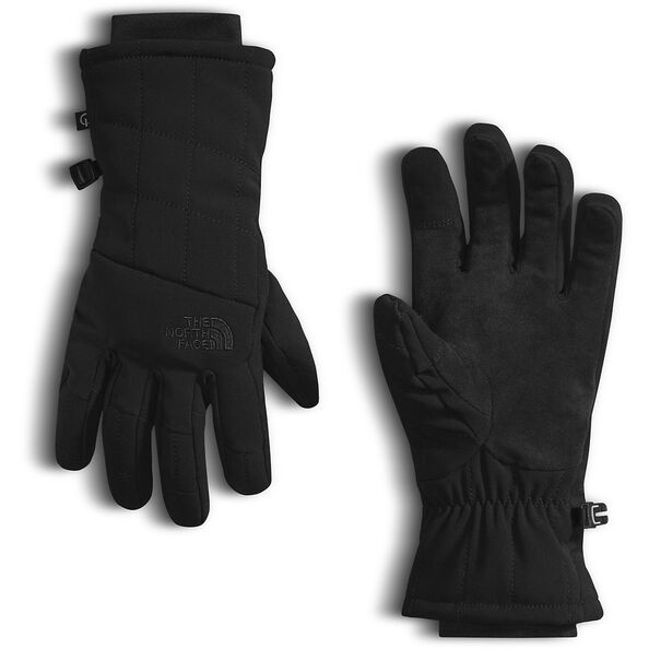 WOMEN'S PSEUDIO INSULATED GLOVES, TNF BLACK, hi-res