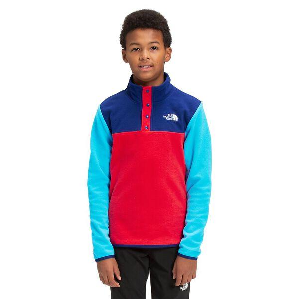 Youth TKA Glacier Fleece ¼ Snap Pullover