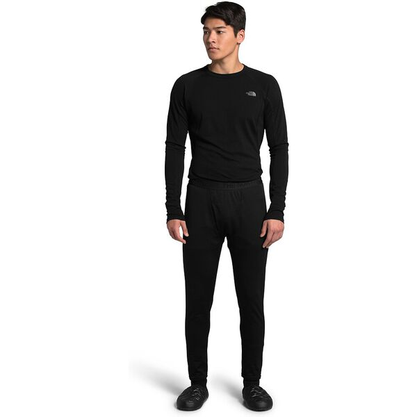 Men's Ultra-Warm Poly Tights, TNF BLACK, hi-res