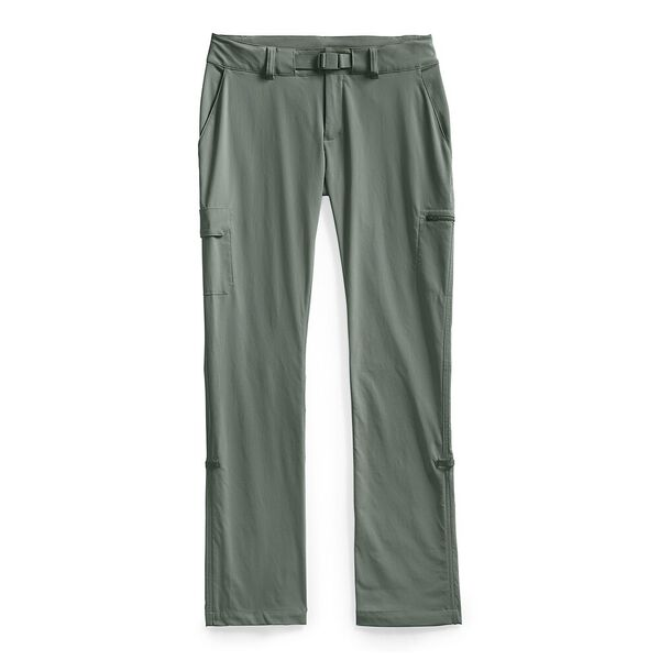 Women's Paramount Active Mid-Rise Pants, AGAVE GREEN, hi-res