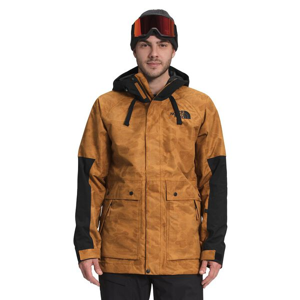 Men's Balfron Jacket, TIMBER TAN TONAL DUCK CAMO PRINT/TNF BLACK, hi-res