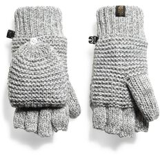 WOMEN'S PURRL STITCH MITTS