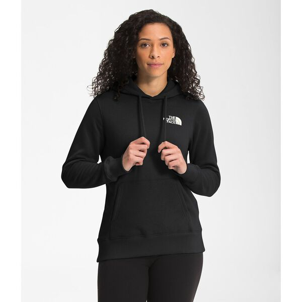 Women's Box NSE Pullover Hoodie, TNF BLACK/GRAVITY PURPLE, hi-res