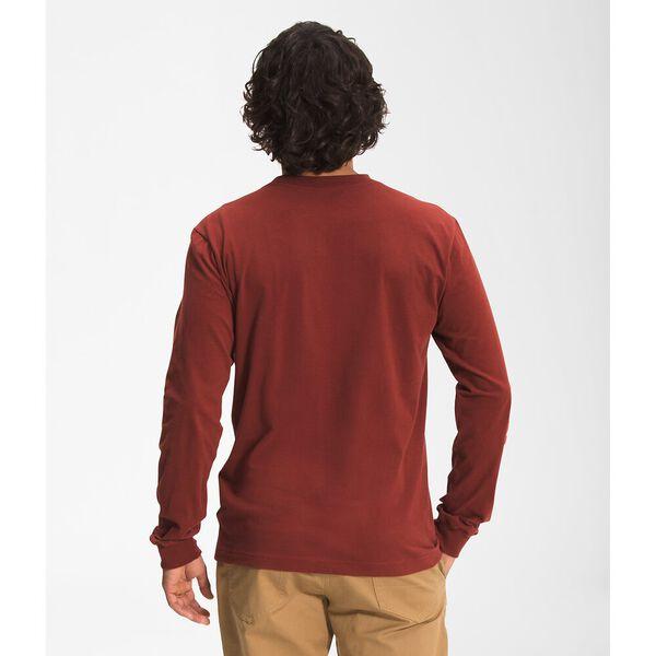 Men's Long-Sleeve TNF™ Sleeve Hit Tee, BRICK HOUSE RED, hi-res