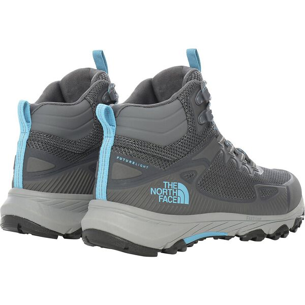 Women's Ultra Fastpack IV Mid FUTURELIGHT™, ZINC GREY/CARIBBEAN SEA, hi-res