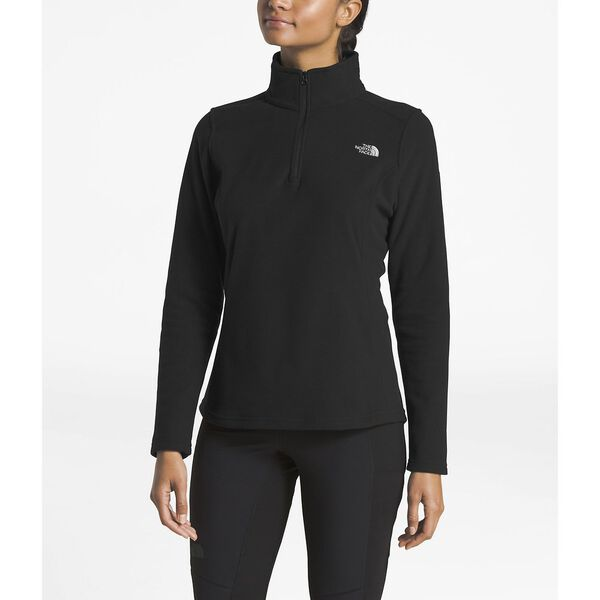 Women's Glacier ¼ Zip, TNF BLACK, hi-res