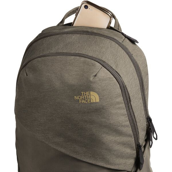 WOMEN'S ISABELLA BACKPACK, NEW TAUPE GREEN LIGHT HEATHER/BRITISH KHAKI, hi-res