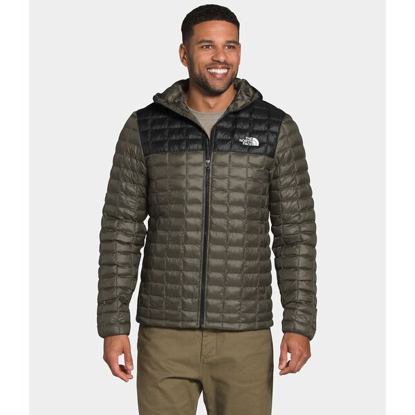 Men's Thermoball™ Eco Hoodie, NEW TAUPE GREEN MATTE/TNF BLACK MATTE, hi-res