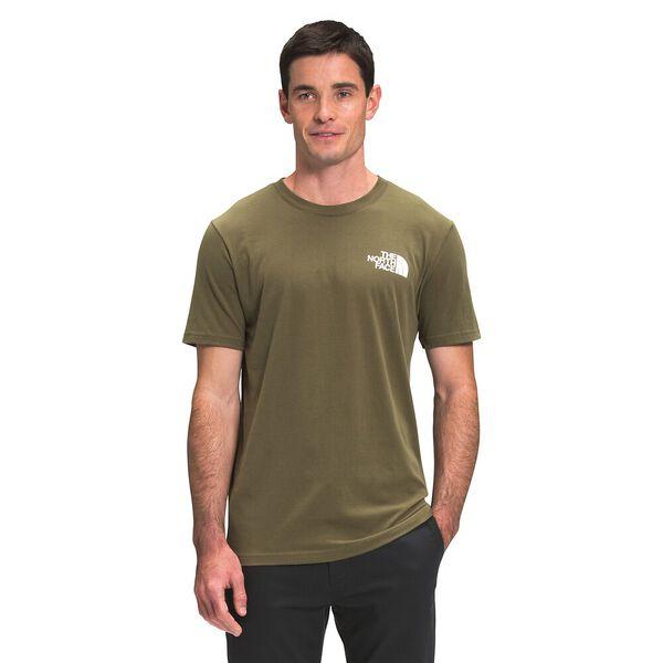 Men's Short-Sleeve Box NSE Tee, BURNT OLIVE GREEN, hi-res