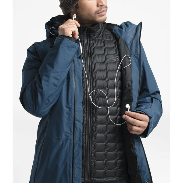 Men's Descendit Jacket, BLUE WING TEAL, hi-res