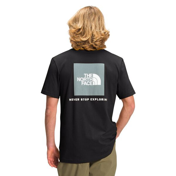 Men's Short-Sleeve Box NSE Tee, TNF BLACK, hi-res