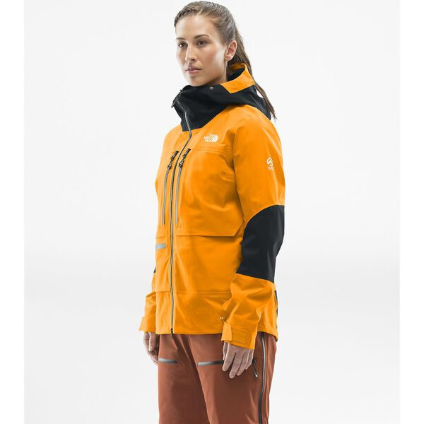 Women's Summit L5 FUTURELIGHT™ Jacket, KNOCKOUT ORANGE/TNF BLACK, hi-res