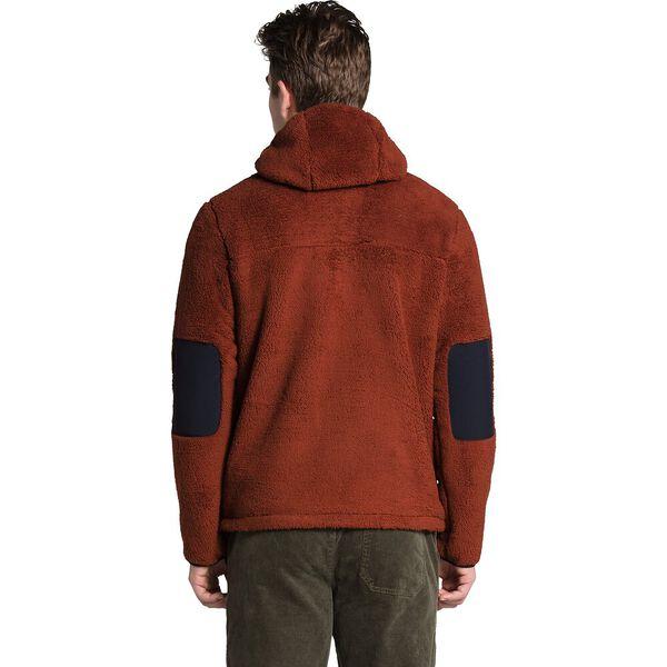 Men's Campshire Pullover Hoodie, BRANDY BROWN/AVIATOR NAVY, hi-res