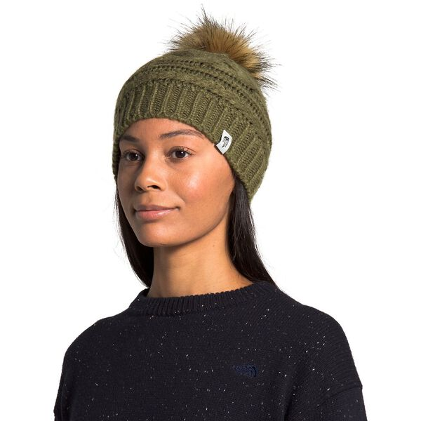Triple Cable Beanie, NEW TAUPE GREEN, hi-res