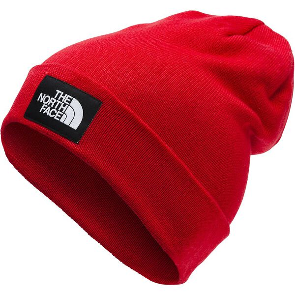 DOCK WORKER RECYCLED BEANIE, TNF RED/TNF BLACK, hi-res