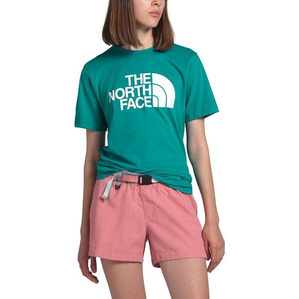 Women's Short-Sleeve Half Dome Cotton Tee, JAIDEN GREEN, hi-res
