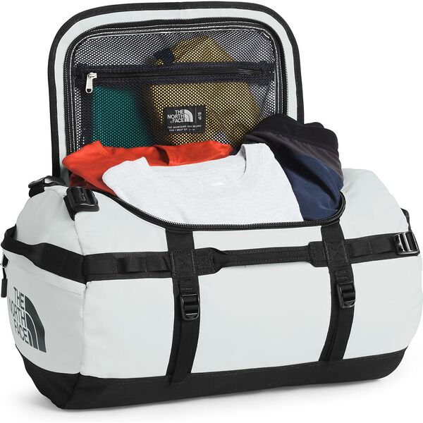 Base Camp Duffel - S, TIN GREY/TNF BLACK, hi-res