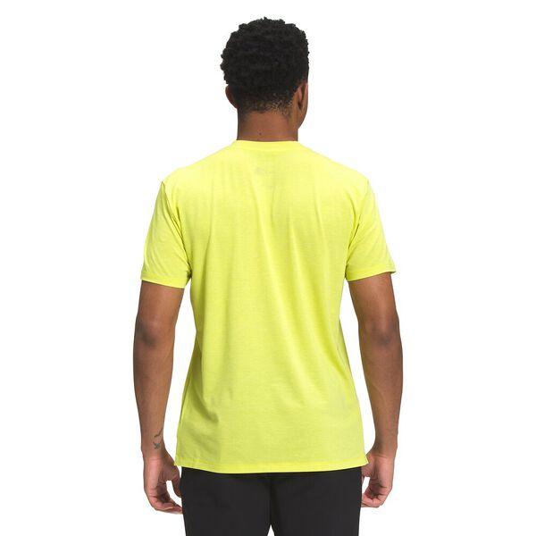 Men's Wander Short-Sleeve, SULPHUR SPRING GREEN HEATHER, hi-res