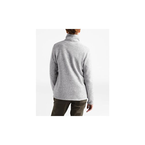 WOMEN'S CRESCENT FULL-ZIP JACKET, TNF LIGHT GREY HEATHER, hi-res
