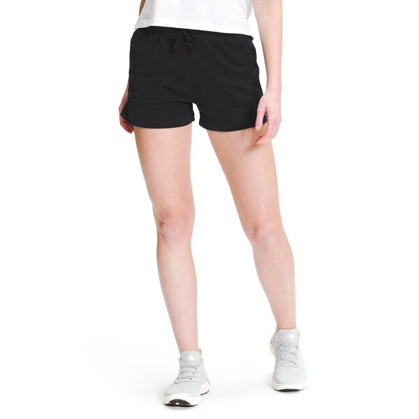 Women's High-Rise Camp Sweatshorts, TNF BLACK, hi-res