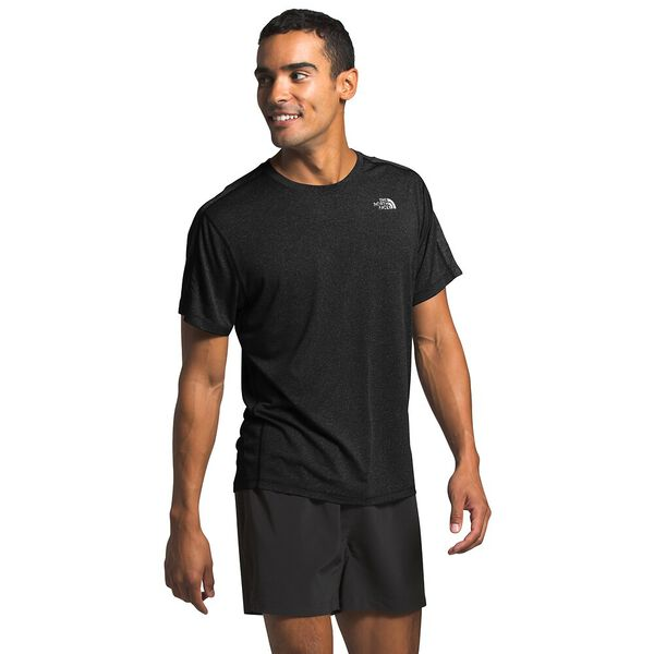 Men's Flight Better Than Naked™ Short-Sleeve, TNF BLACK HEATHER, hi-res