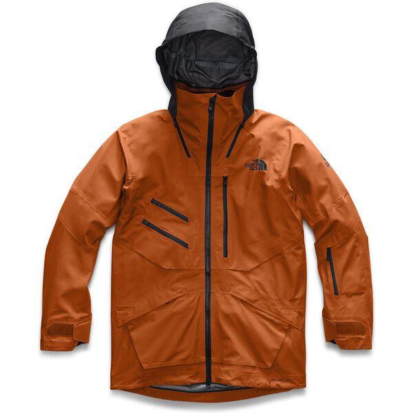 Men's Brigandine FUTURELIGHT™ Jacket, PAPAYA ORANGE FUSE/WEATHERED BLACK FUSE, hi-res