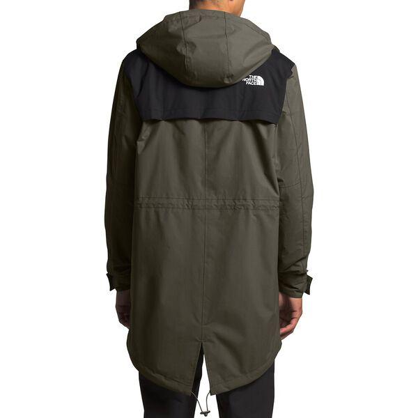 Men's City Breeze Rain Parka, NEW TAUPE GREEN/TNF BLACK, hi-res
