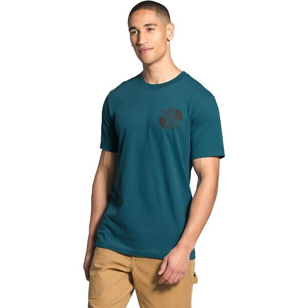 Men's Short-Sleeve Double Dome Tee, MALLARD BLUE, hi-res