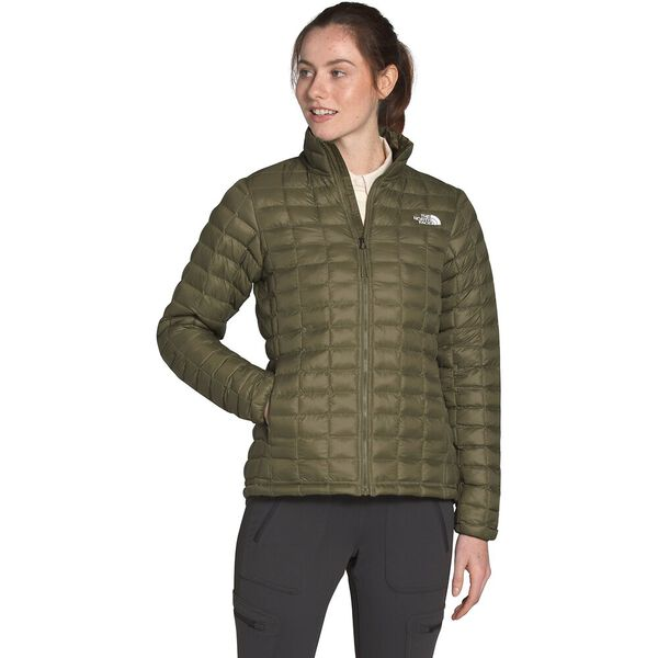 Women's Thermoball™ Eco Jacket, BURNT OLIVE GREEN MATTE, hi-res