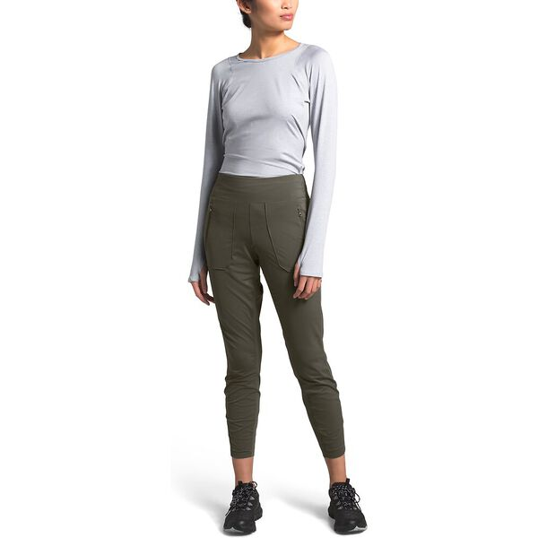 Women's Paramount Active Hybrid High-Rise Tight, NEW TAUPE GREEN, hi-res