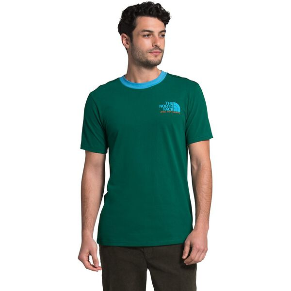 Men's Short-Sleeve Rogue Graphic Tee 1, EVERGREEN/ETHEREAL BLUE, hi-res