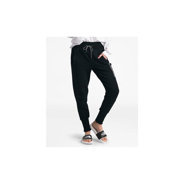 WOMEN'S NSE GRAPHIC PANT, TNF BLACK, hi-res